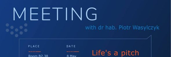 Life's a pitch – meeting with dr hab. Piotr Wasylczyk